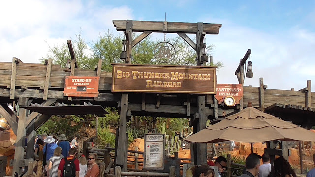 Big Thunder Montain Railroad