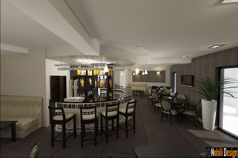 Design interior restaurante baruri in Bucuresti - Arhitect amenajari interioare