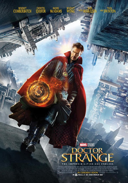 Marvel's Doctor Strange Final Theatrical One Sheet Movie Poster