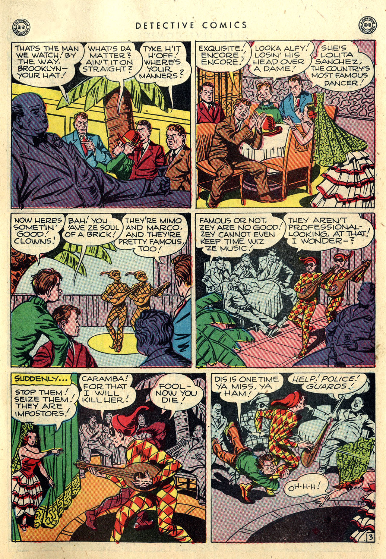 Read online Detective Comics (1937) comic -  Issue #112 - 39
