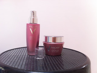 Vichy idealia skin sleep mask, life serum, chick advisor