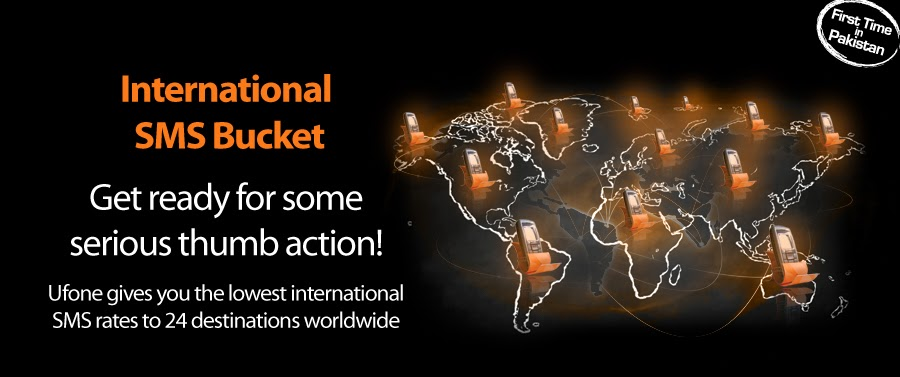 Ufone 100 International SMS Package to 24 Countries in Rs 4 99 | MyWords
