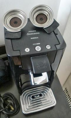 Cafetera Senseo Quadrante negra