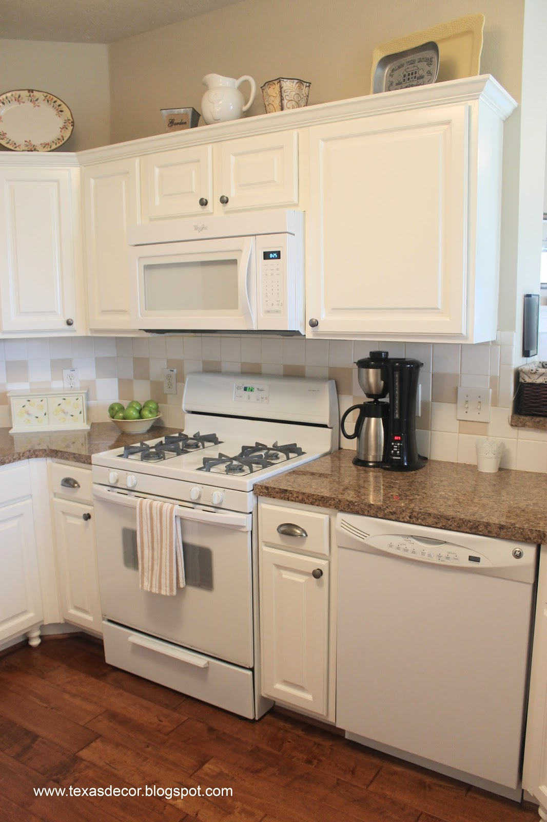 White Paint Colors For Kitchen Cabinets Texas Decor Painted Kitchen Cabinet Reveal