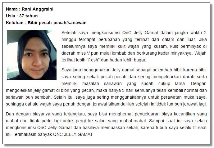 Agen QnC jelly Gamat di Cirebon