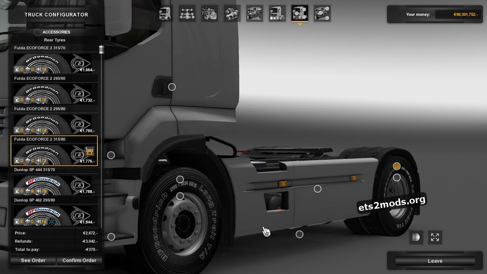 BFGoodrich Tires Pack For All Trucks