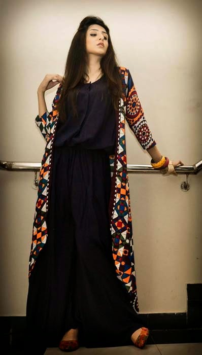 Stylish Eid And Party Wear Long Shirts For Girls By