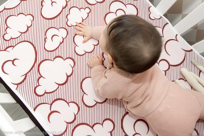 Opinion beneficios y caracteristicas sobre El_mejor_colchon_de_cuna_para_bebé  BabyKeeper_antiahogo_antiacaros_lavable funda cambia color