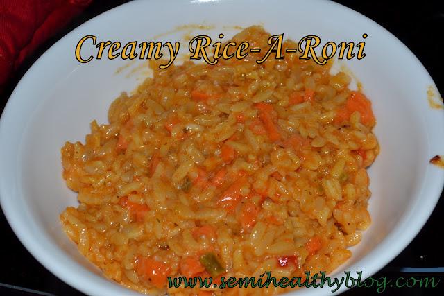 Creamy Rice-A-Roni