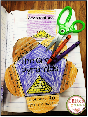 Looking for Ancient Egypt activities, printables, and projects for your students? Check out this interactive notebook to excite kids!