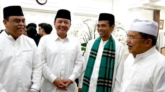 Yang Dirasakan Oleh Ustadz Abdul Somad Saat Sarapan Bersama JK