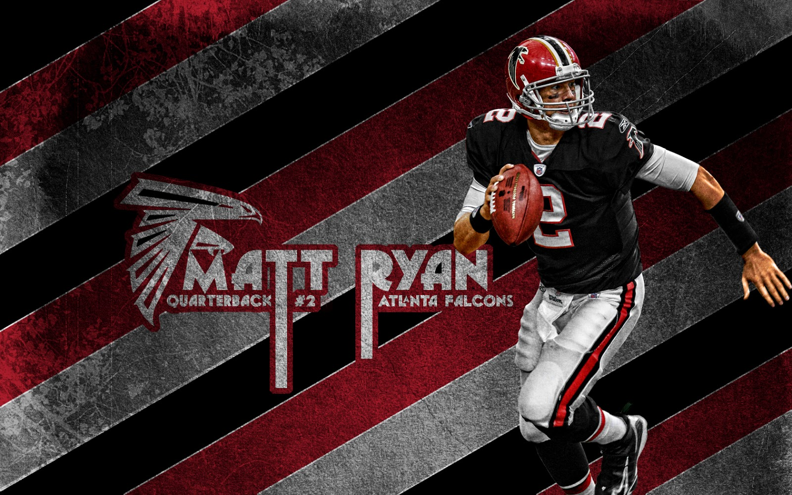 Matt Ryan Atlanta Falcons Hd Background Wallpapers Free: FOOTBALLPLAYERSDELUXE: MATT RYAN