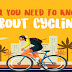 All You Need To Know About Cycling #infographic