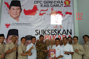 Gerindra: Prabowo-Sandi Menak Telak 72% di Garut Jawa Barat