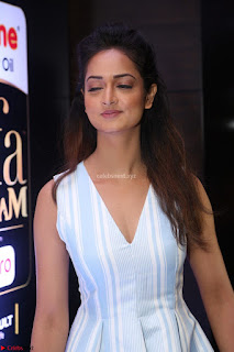 Shanvi Looks super cute in Small Mini Dress at IIFA Utsavam Awards press meet 27th March 2017 110.JPG