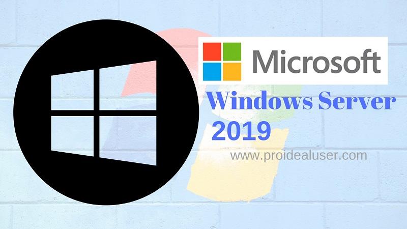Windows Server 2019 Versions 1809 (Nov 13 Re-Release) New