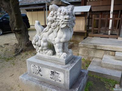 柴島神社狛犬