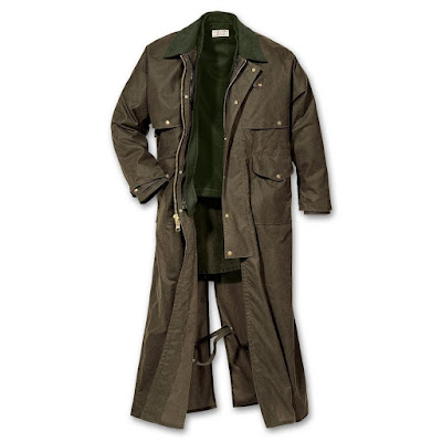 Jaket kulit duster original