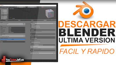 Como Descargar Blender Ultima Versión 2018 FULL ESPAÑOL
