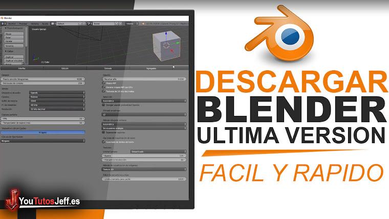 Como Descargar Blender Ultima Versión 2019 FULL ESPAÑOL