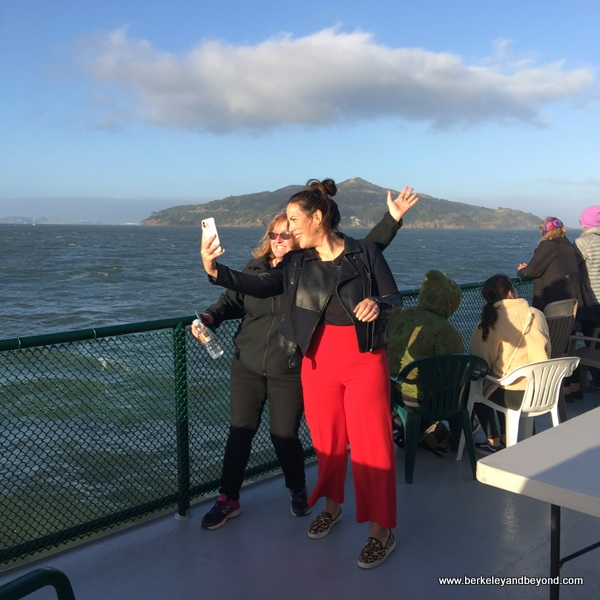 fun on the Tiburon Ferry in Tiburon, California
