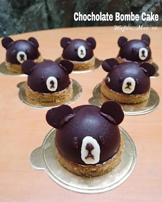 Resep Choholate Bombe Cake Cemilan Untuk Si Kecil @dapurwafda