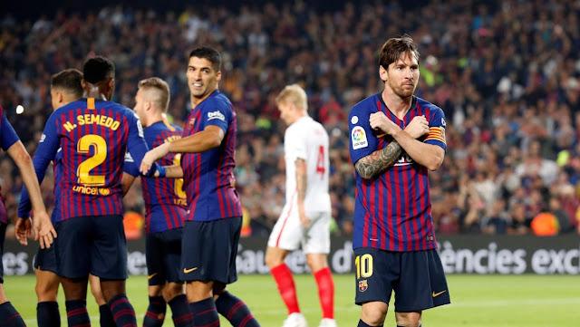 مشاهدة مباراة برشلونة و اشبيلية اليوم الاربعاء 30-1 -2019