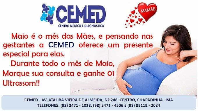 CEMED realiza promoção Especial para o mês das Mães.