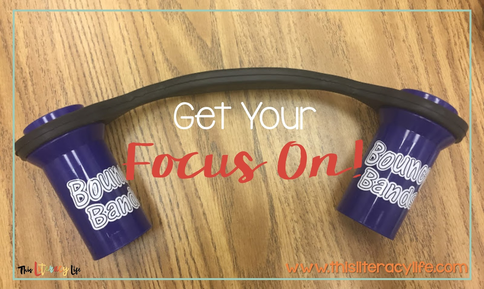 Bouncy Bands are a great tool to help students pay attention to their work and focus on the task at hand.
