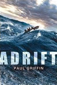 Adrift by Paul Griffin book cover