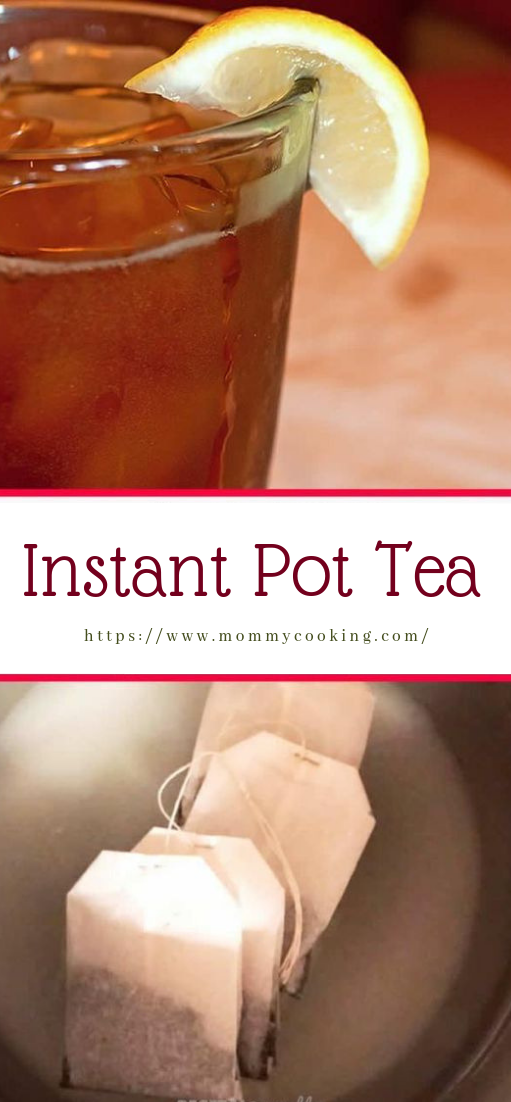 Instant Pot Tea #drinks #cocktail