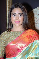 Shriya Saran Looks Stunning in Silk Saree at VRK Silk Showroom Launch Secundrabad ~  Exclusive 097.JPG