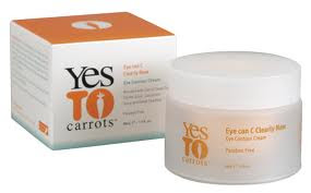review of yes to carrots eye contour cream
