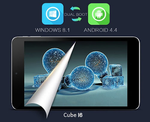 CUBE I6 - DUAL BOOT ANDROID - WINDOWS
