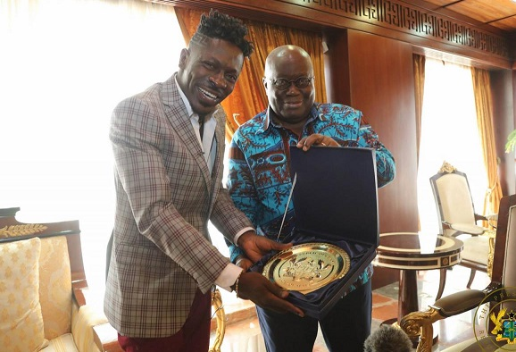 Akufo Addo Unfollows Shatta Wale On Twitter After Leaked Sex Video