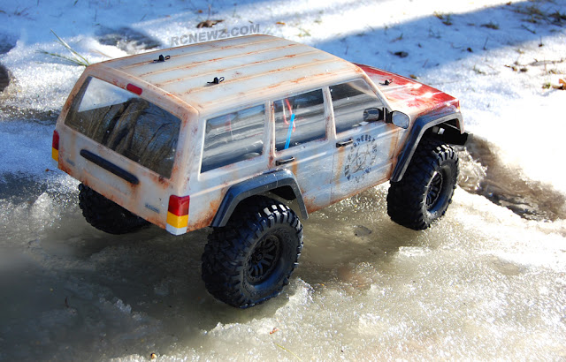 Traxxas TRX-4 winter crawling