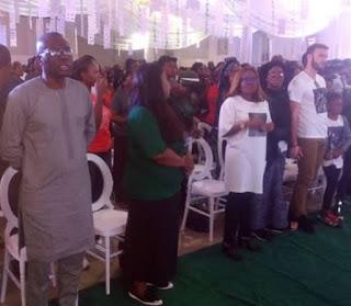 Babajide Sanwo-Olu, Falz, others attend Tosyn Bucknor's service of songs