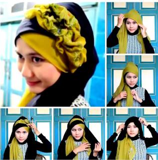 Model hijab untuk wisuda yang kedua