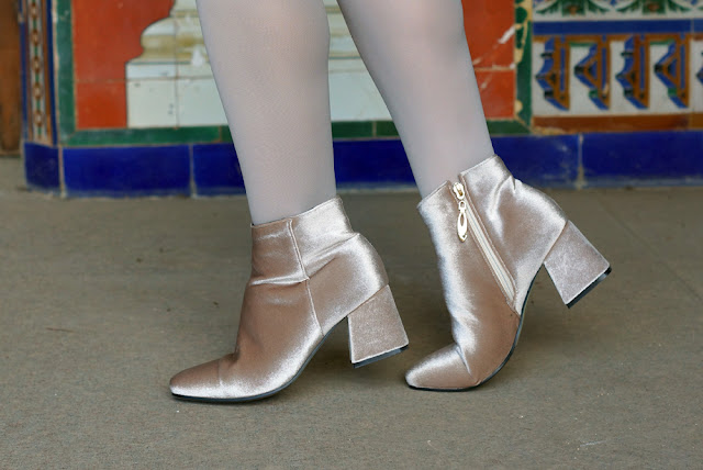 Velvet-Square-Toe-Ankle-Boots