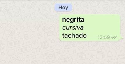 Aprende a usar los caracteres para escribir en WhatsApp