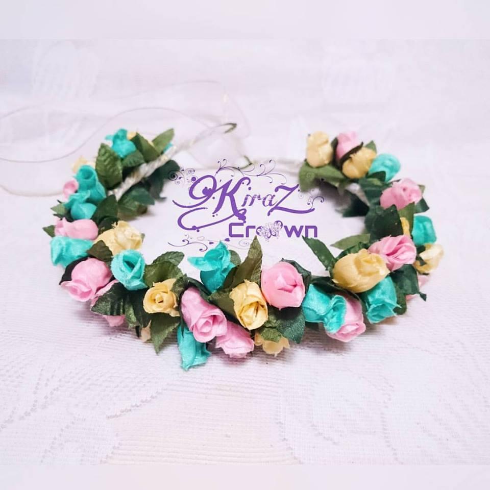 Grosir Flower Crown Bridal Mahkota Bunga Bando Murah d7aa421b18c