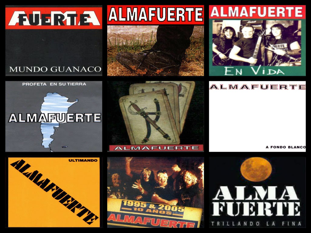 discografia completa de almafuerte 1 link