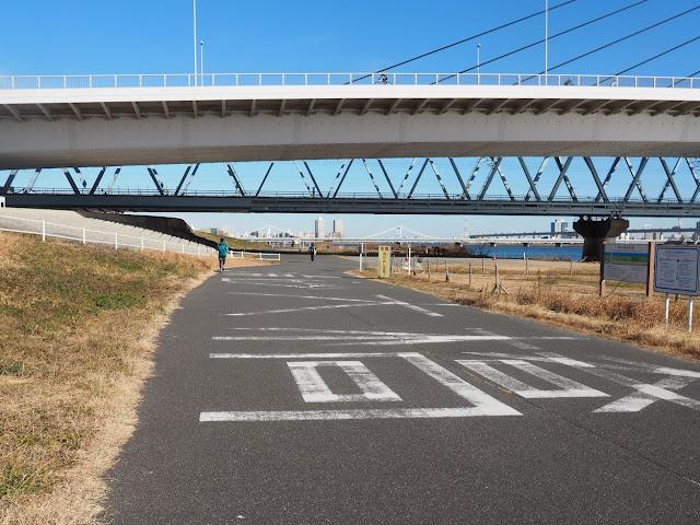 荒川自転車道 清洲大橋