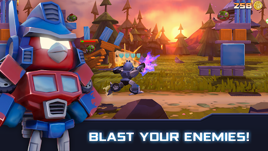 Angry Birds Transformers Mod Apk Android