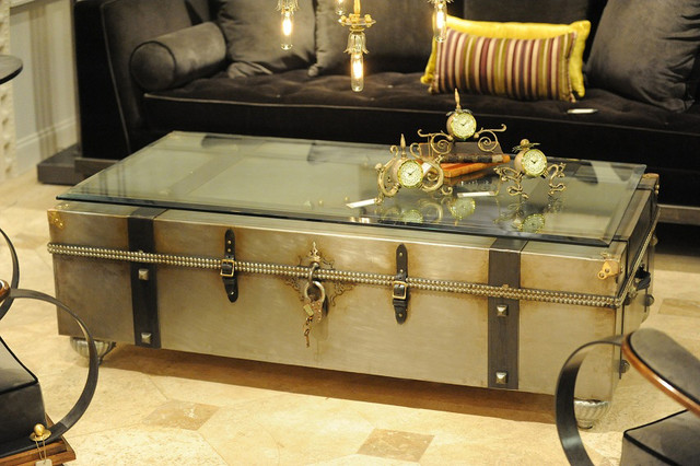 industrial chic coffee table furniture ideas