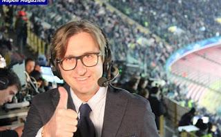 Napoli Genoa 2-0 commento Raffaele Auriemma telecronisti tifosi video