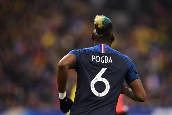 La comprar camisetas futbol Francia mundial rusia 2018 Paul Pogba 6 de es  simple y elegante df419b0f14a9b