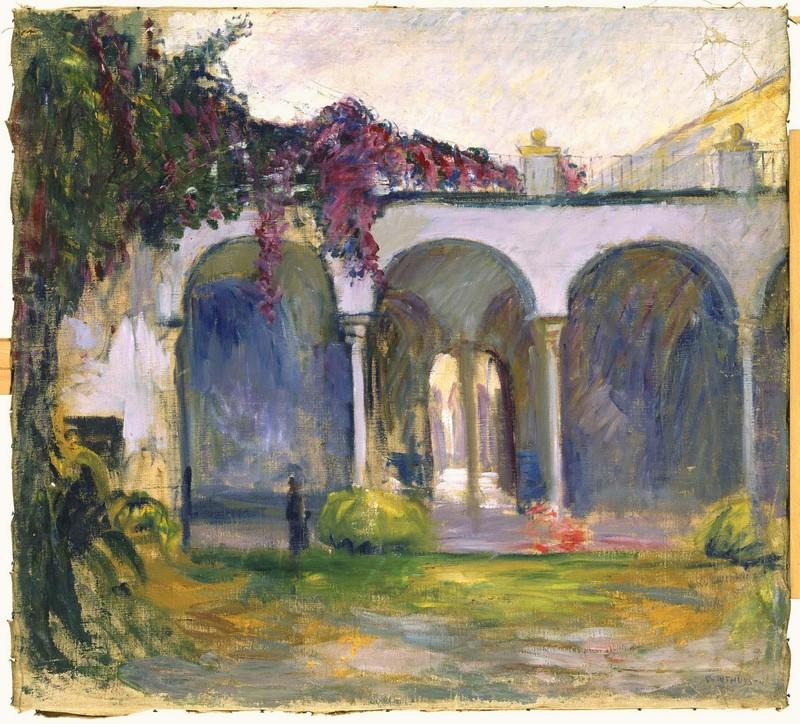 Entrada de la Casa de Pilatos, 1914 ca. | Javier de Winthuysen y Losada