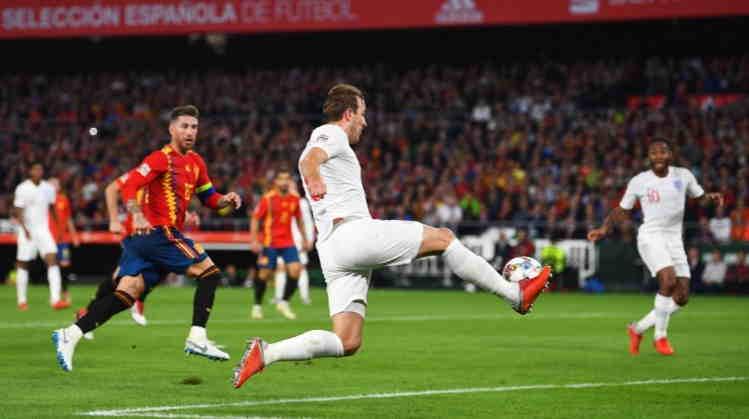 Hasil Spanyol vs Inggris Skor Akhir 2-3