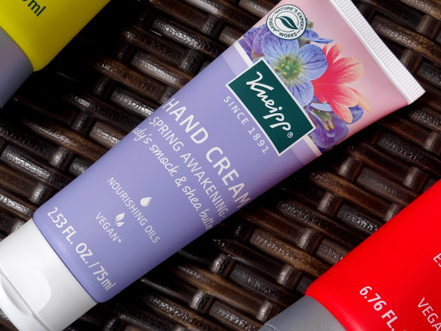 New Kneipp Launches For Summer - Body Washes and Spring Awakening Hand Cream